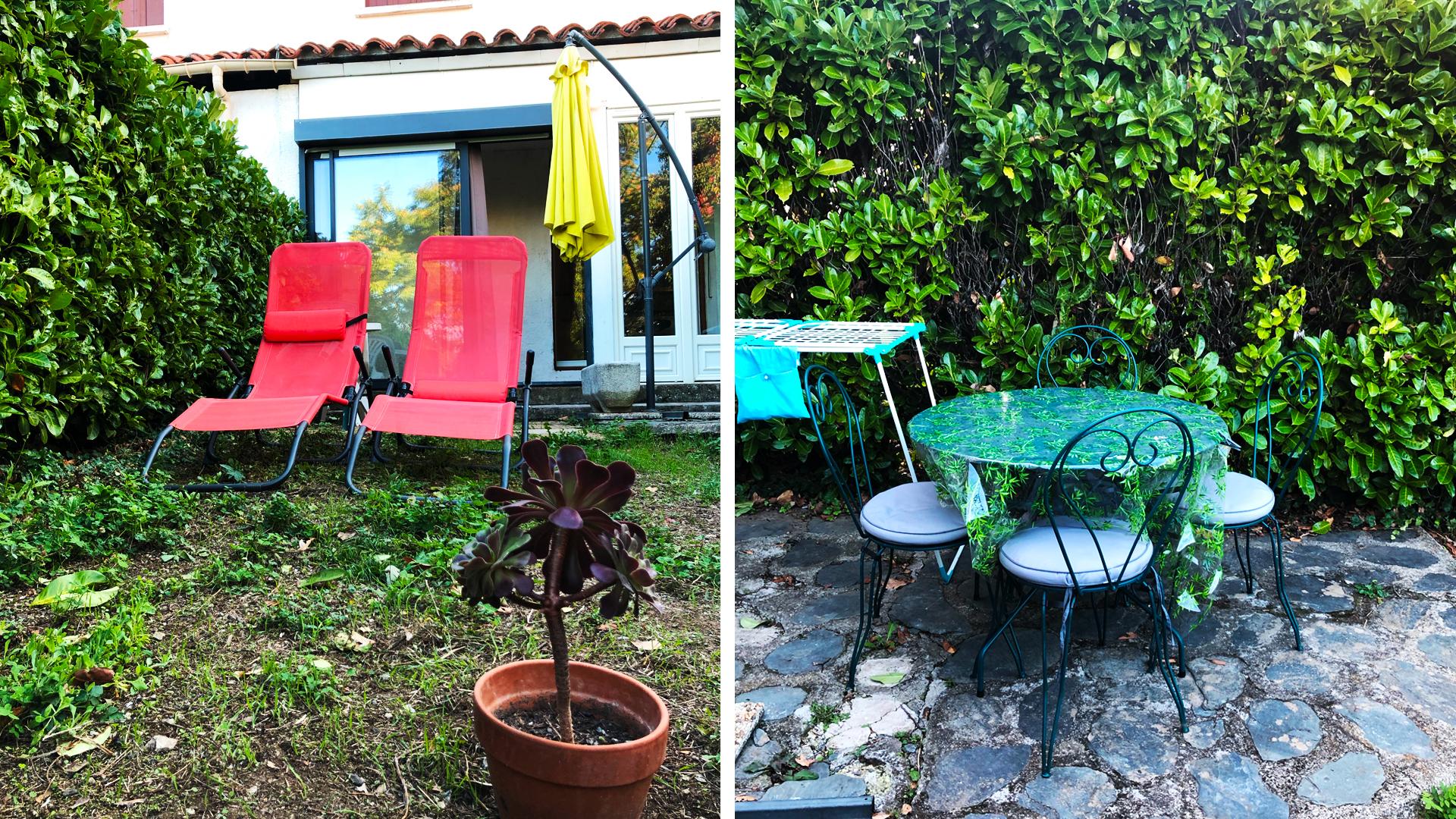 Location appartement avec jardin Vernet-les-bains à coté de la forêt