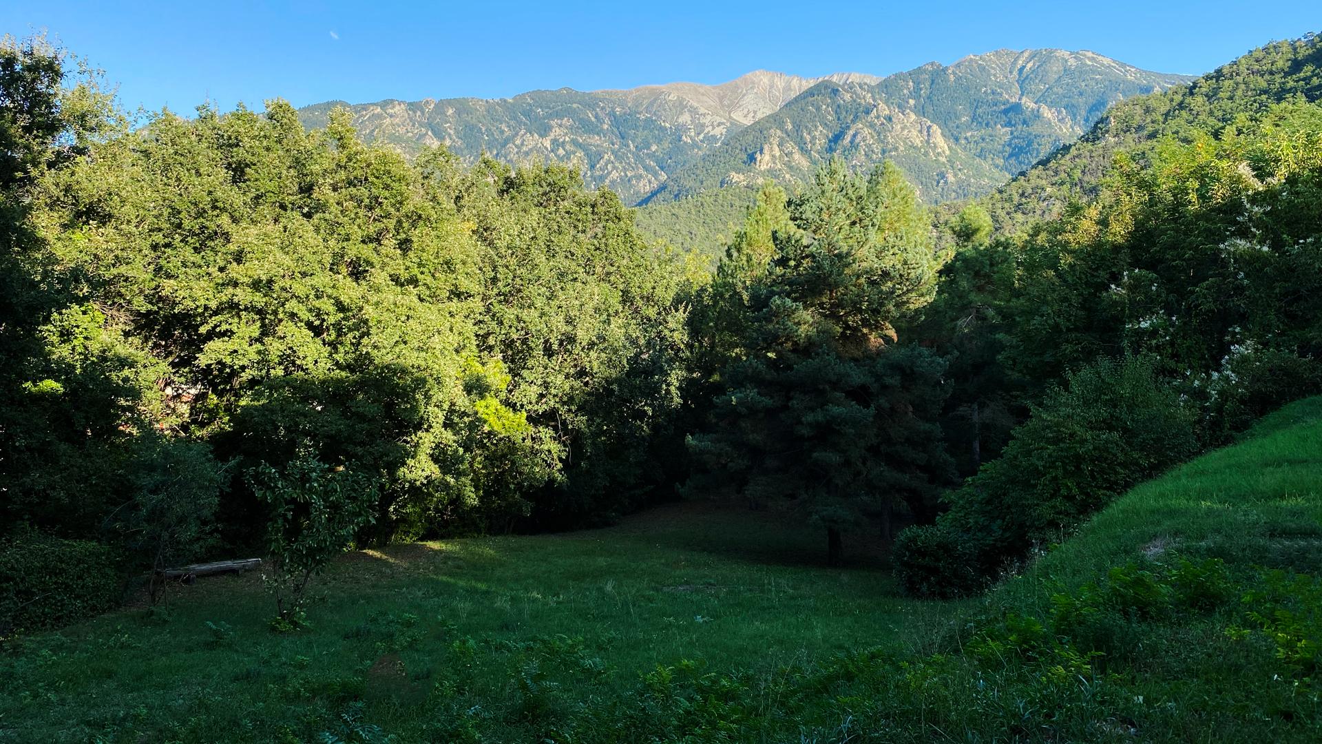 Location jardin Vernet-les-Bains